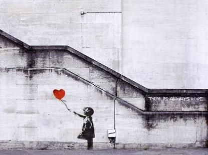 Banksy - Banksys Balloon Girl