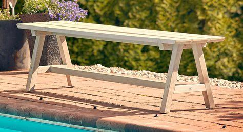 Splitter nya Bygg en bänk i sommar | Snickeri i 2019 | Bord utomhus, Diy bänk YV-82