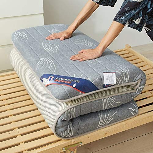 Thick Memory Foam Mattress Pad Foldable Tatami Floor Mat Japanese
