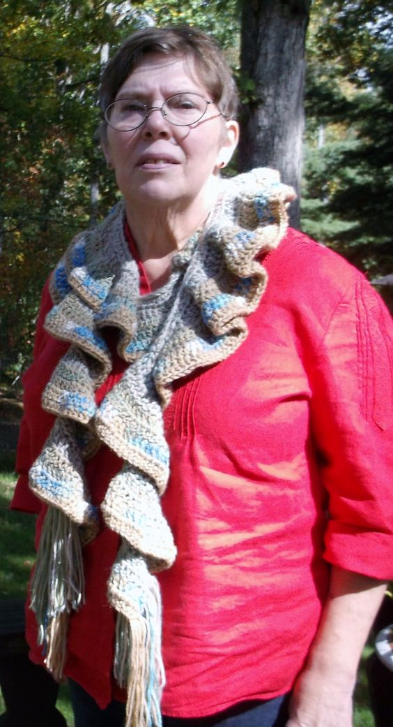 Handwoven Scarf in Neutral Colors by whitesquirrelgifts. Explore more products on http://whitesquirrelgifts.etsy.com