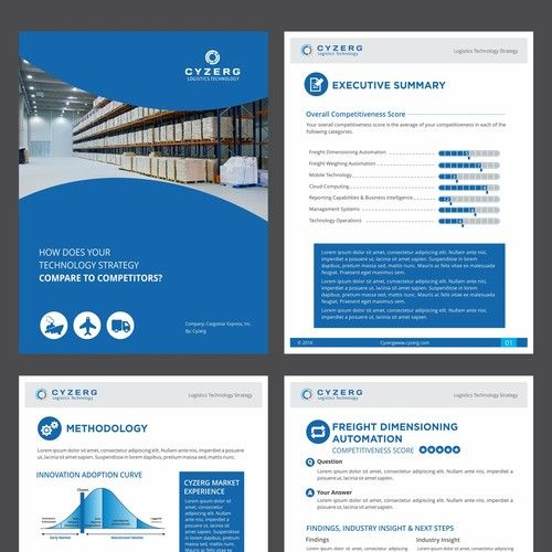 Create A Visually Appealing 5 Page Whitepaper Template Other