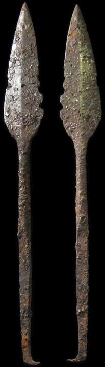 ancient Viking spear-head! Dates from the 4th - 8th century AD