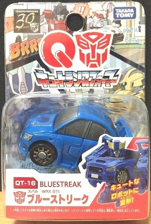 Takara Tomy Transformers 30th Choro Q Qtf Qt 16 Blue Streak Subaru Wrx Sti Japan Takaratomy Takara Tomy Wrx Toy Car