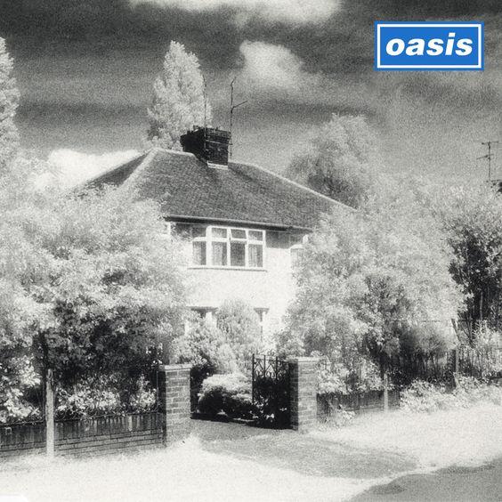 Oasis – Live Forever (single cover art)