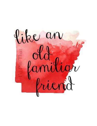 Like an old familiar friend. Arkansas print using the fill pattern and font overlay in Silhouette Studio.