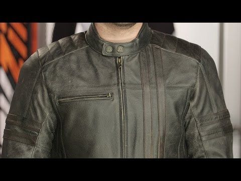Scorpion 1909 Leather Jacket Review at RevZilla.com