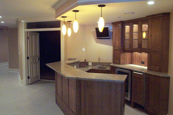 Finished idea basement remodeling remodeling basement for Finished walkout basement ideas