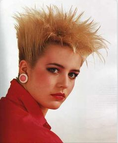 Terrific 80S Punk Punk And Hairstyles On Pinterest Hairstyles For Women Draintrainus