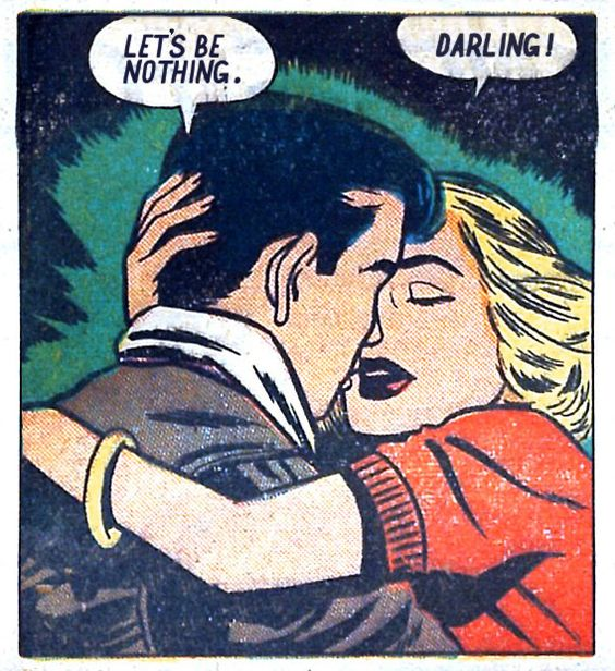 """Comic Boys Say.. Let's be nothing."""""""" #comic #vintage"""