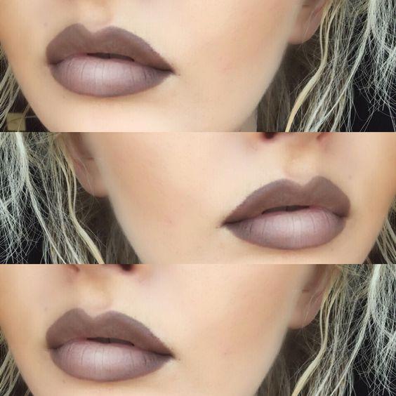 Stone lip liner & Myth lipstick from MAC- @makeupbyhailee