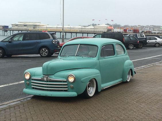 1947 FORD 2DOOR SEDAN hotrod street rod chevy air ride v8 in Cars, Motorcycles & Vehicles, Classic Cars, Ford | eBay