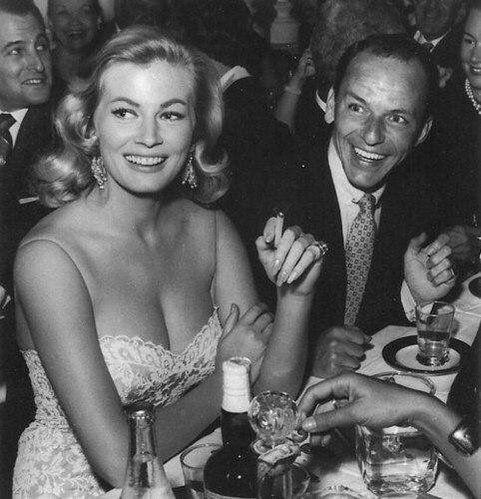 Anita Ekberg & Frank Sinatra 1950's