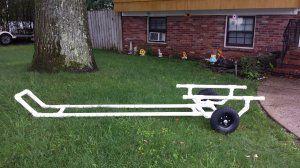 pvc boat dolly - Google Search | Carts | Pinterest | Boats ...