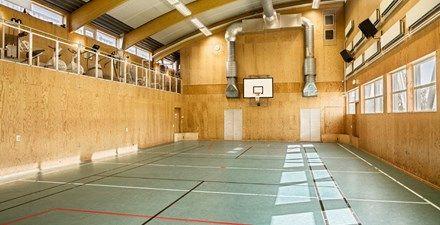 Stor idrottshall
