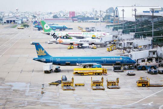 Sân đỗ máy bay sân bay quốc tế Tân Sơn Nhất