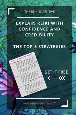 Do you struggle to find the right words to explain Reiki to your potential clients and others?  Many do.  Here is a fantastic run down of the very best strategies to use in order to feel more confident and credible when explaining Reiki to others.  The strategies are downloadable FREE.  Click through to read or pin to read later!