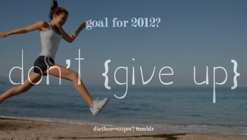 goal for 2012