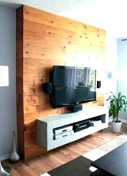 Wood Panel Behind Tv Glamorous How To Build A Wall Mounted Entertainment Wood Panel Mount Furniture Stores Near Me W Home Diy Tv Wall Mount Living Room Tv Wall