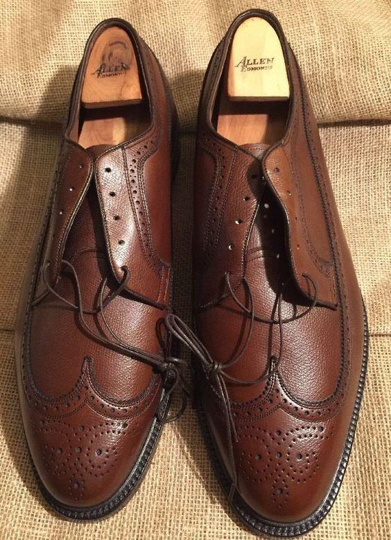 Details about Allen Edmonds Vintage MACNEIL Teak-Burr 9157 Mens ...
