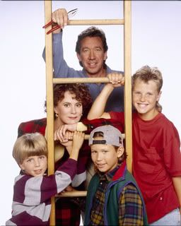 Home Improvement. My crush on Jonathan Taylor Thomas eventually faded, but I still love watching this show from time to time. haha. Great family entertainment.