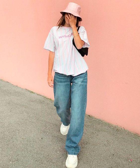 Emma Rose - jeans - grandpa-jeans - verão - street-style
