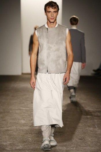 Standard Deviation - Fashion. Design. Culture. Art. Myko.: Siki Im Spring / Summer 2013 Menswear Runway