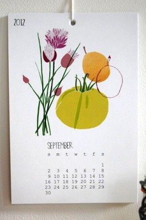 calendar inspiration: illustrations