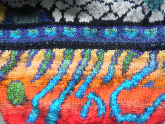 From 'Knit a Reef' sweater...circa 1998:
