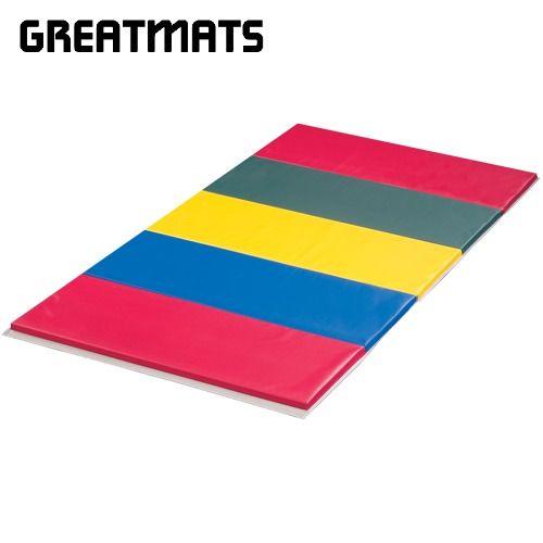 Folding Gym Mat 4x10 Ft X 1 5 Inch V2 18 Oz In 2020 Folding Gym Mat Cheer Hacks Gymnastics Gym