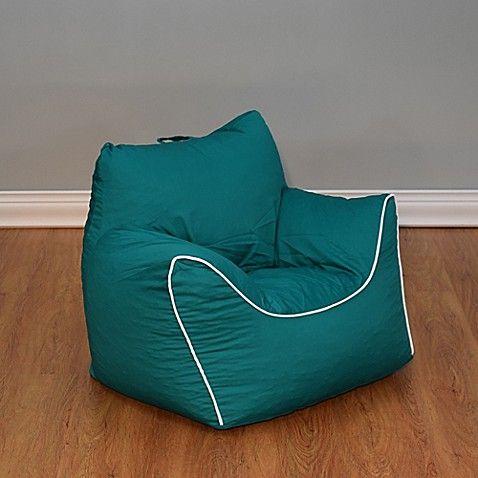 Emerald Green Bean Bag Chair With Removable Cover Bean Bag Chair
