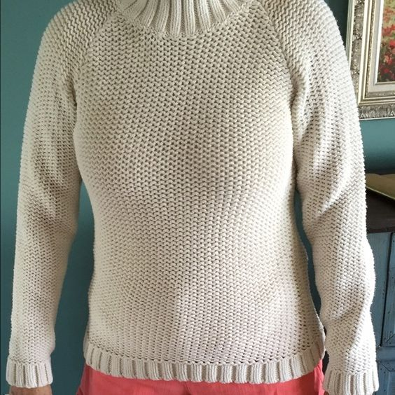 Sweater Turtleneck sweater. Great weight for fall and winter. Eddie Bauer Sweaters