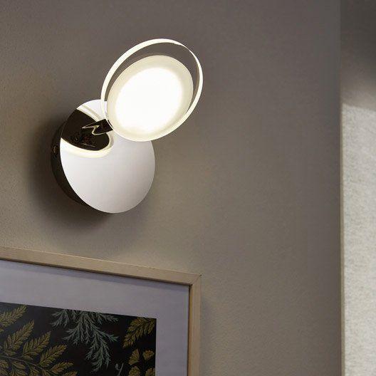 Spot Patere Design Loob 1 Xled Integree Chrome Inspire Led Patere Design Spot Led