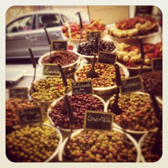 Organic market, Antibes, France