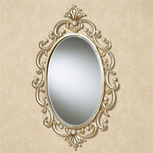 Giorgianna Wall Mirror Champagne Gold