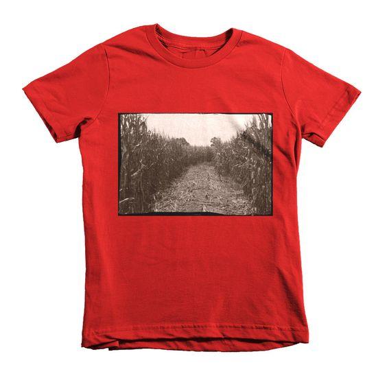 Short sleeve kids t-shirt (BEATEN PATH)