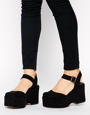 ASOS - PAW PRINT - Chaussures à plateforme plate