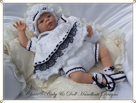 Knitting Pattern For Sailor Doll : Sailor dress, Dress set and Larger on Pinterest
