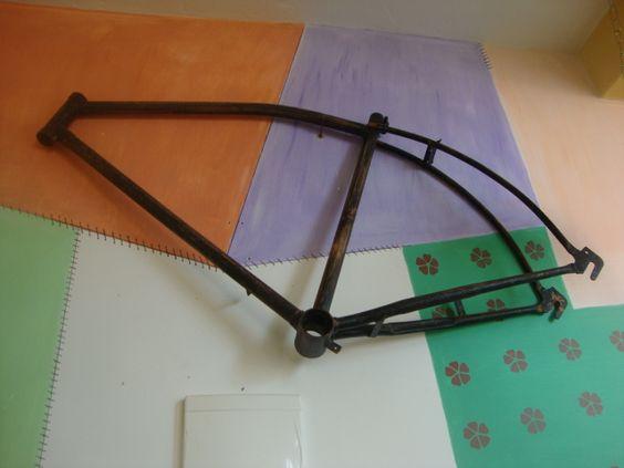 quadro de bicicleta antiga Monark (olé)