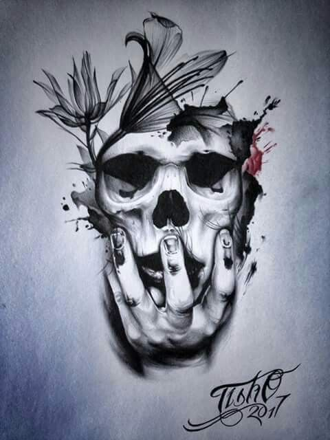 Pin By Anastasiya On Skulls Tattoos Sleeve Tattoos Body Art Tattoos
