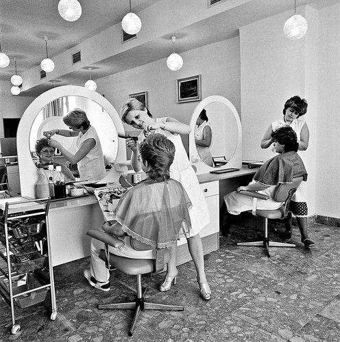 Old Time Hair Salon Vintage