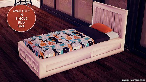 Toddler Charlie Bed New Mesh Bed Frame Only Toddler Bed