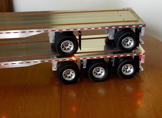 Rc trucks, Trailers and My husband on Pinterest
