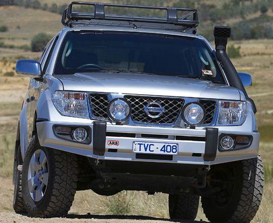 nissan pathfinder arb bumpers | ARB Sahara Bumper Nissan D40, Pathfinder R51, -'10 > NISSAN->Navara ...