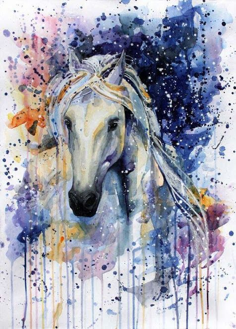 60 Best Horse Tattoos Designs And Ideas With Meanings Horse Painting Watercolor Horse Horse Art