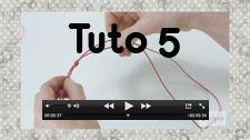 Nos tutos en vidéo - Fifi jolipois Faire un noeud coulissant  Boutique FIFIJOLIPOIS (Toulouse)