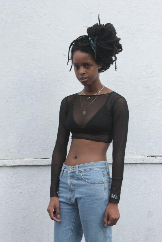 Black Mesh Net Co-ordinate Top/Skirt Set – ONE BOUTIQUE