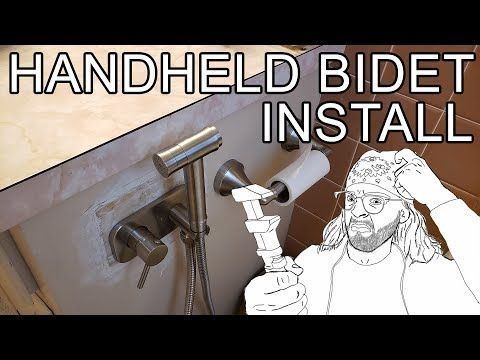 How To Install A Hot Cold Bidet Review Trustmi Youtube In