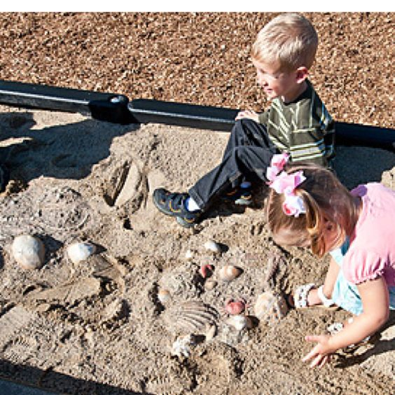 """""""fossil dig"""" for dinosaur party!"""