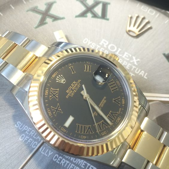 Which Rolex Datejust II are you?  #MoreInStore