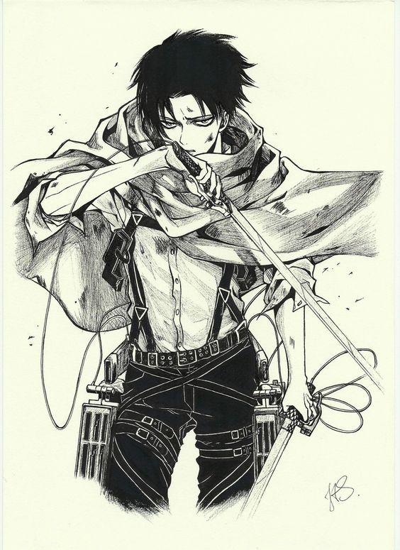 Badass Attack On Titan Levi Attack On Titan Anime Attack On Titan Art